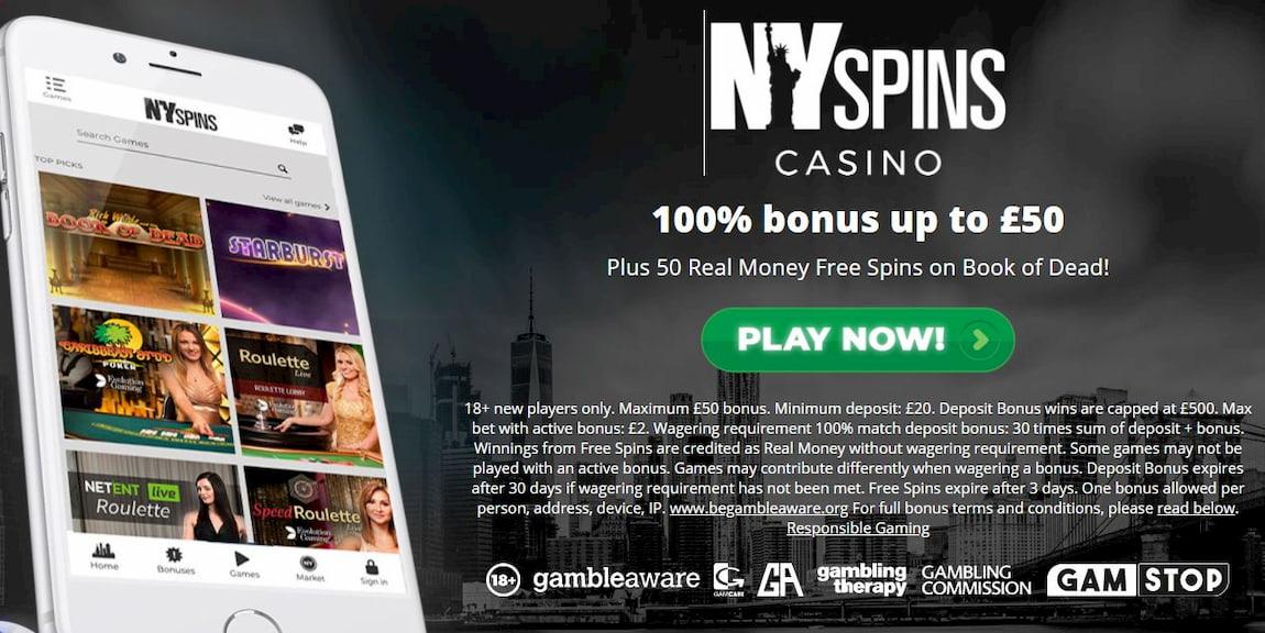 Ny Spins Bonus