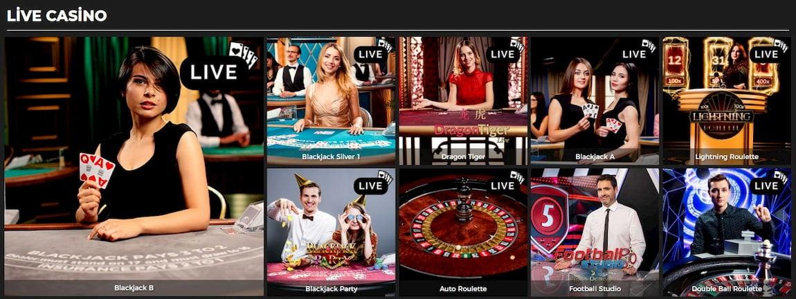 PowerPlay Casino Live Games