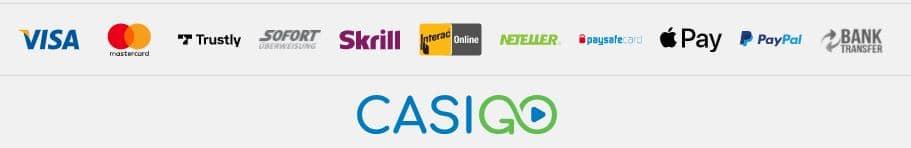 Casigo Banking Options