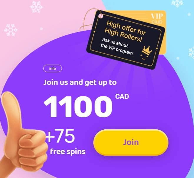 Emojino Welcome Bonus