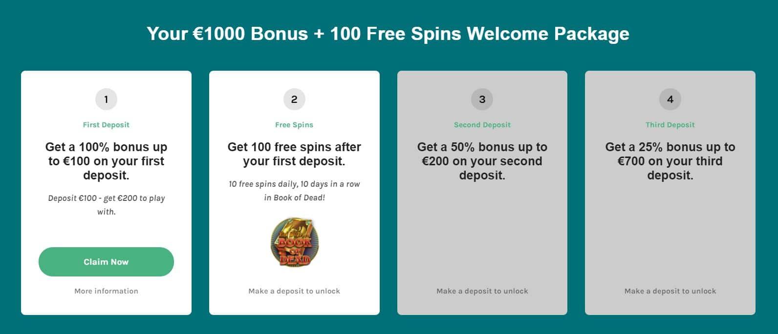 Lucky Days Welcome Bonus