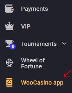 Woo Casino App