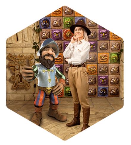 Play Gonzo Treasure Hunt