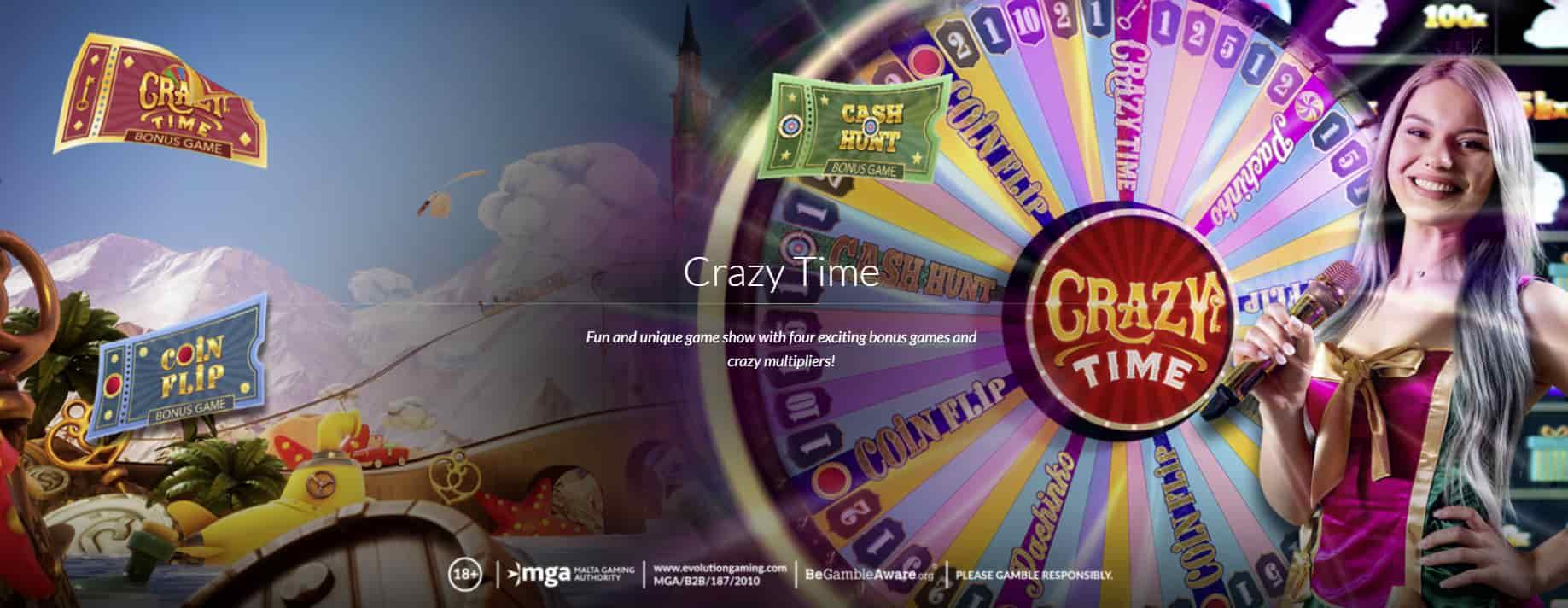CrazyTime Play Now
